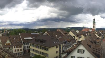 Vue actuelle ou dernière à partir de Frauenfeld: Stadt − 360° Panorama