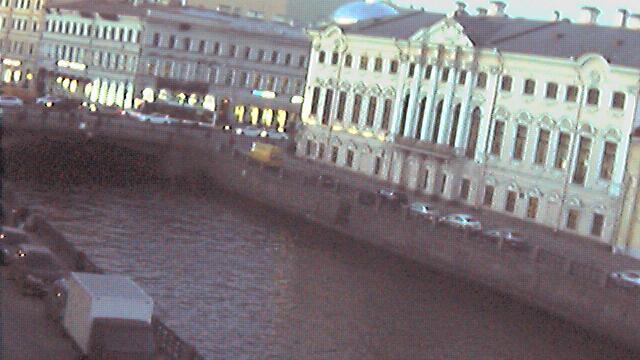 Webkamera Новая Голландия: St. Petersburg Policejskij Bridge