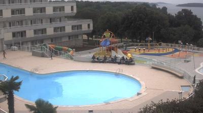 Webcam Zelena Laguna: Poreč, Hotel Delfin