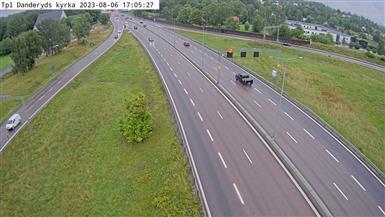 Webkamera Klingsta: Tpl Danderyds kyrka