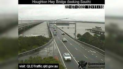 Vue webcam de jour à partir de Margate: Redcliffe − Houghton Hwy (Facing South West)