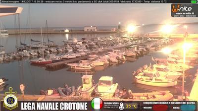 Webkamera Crotone: Lega Navale