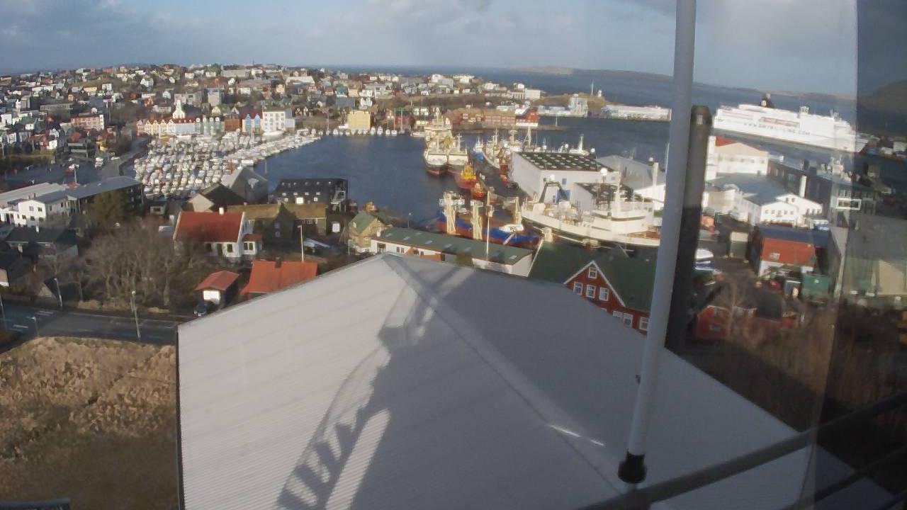 Webcam Tórshavn, Tórshavn, Streymoy, Färöer