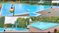 Hulin: Swimming pool - Aktuell