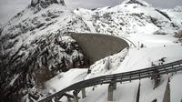 Finhaut: Webcam du barrage d'Emosson - Overdag