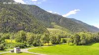 Raron: Air Zermatt - Station - Richtung Sion - Overdag