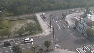 Webcam Hirosaki: Park − South Entrance