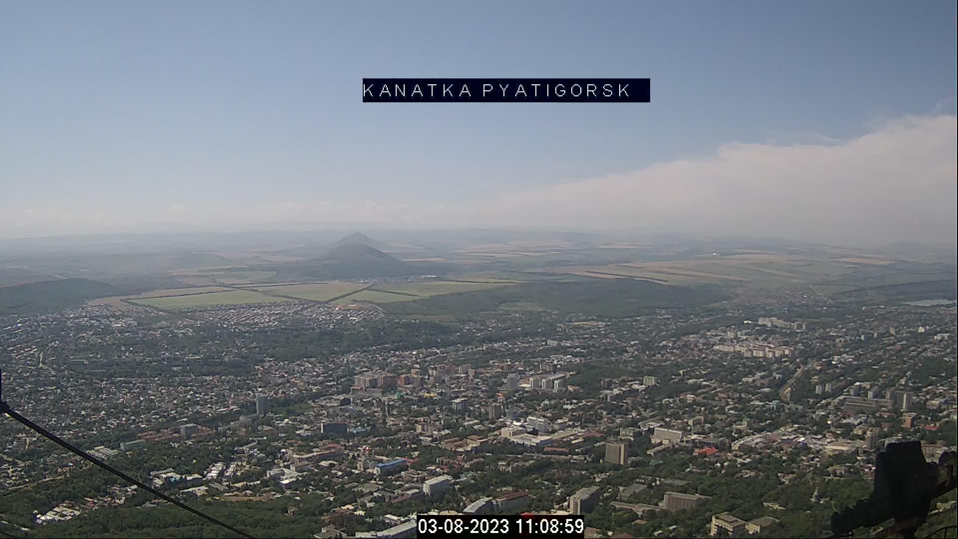 Webkamera Гора Машук › South: Pyatigorsk