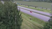 Last daylight view from Jyvaskyla: Tie 4 − Palokka − Ouluun