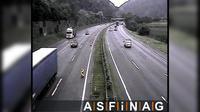 Friesach: A, bei Knoten Peggau-Deutschfeistritz, Blickrichtung Graz - Km , - Dia