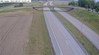 Hagby: Kameran �r placerad p� v�g  Norrortsleden i h�jd med Hagbyv�gen (vid Trafikverkets trafikinformationsskylt) och �r riktad Rosenk�lla/E - Dagtid