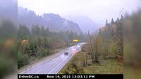 Hope › East: , Hwy  at Othello, about  km east of - looking north - Overdag
