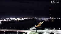 Riga > North-West: Riga Radio and TV Tower - Za?usala - Salu tilts. - Island Bridge - Daugava River - Actuales
