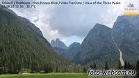 Toblach - Dobbiaco: Drei-Zinnen-Blick - Vista Tre Cime - View of the Three Peaks