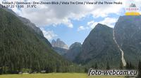 Toblach - Dobbiaco: Drei-Zinnen-Blick - Vista Tre Cime - View of the Three Peaks - Dia