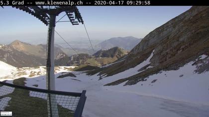 Beckenried: Bergstation Chälen-Sessellift