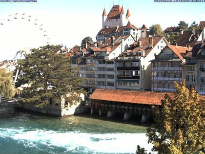 Thun: Innenstadt - Blick auf das Schloss