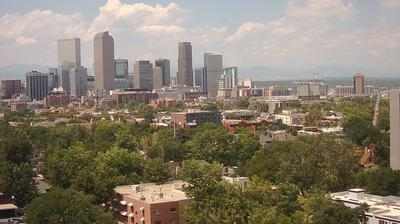 Daylight webcam view from Denver: Live Downtown − weather camera