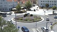 Rottenburg am Neckar: Webcam auf dem Eugen-Bolz-Platz - Tageszeit
