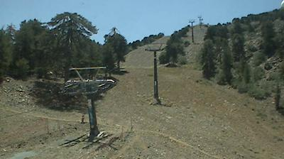 Daylight webcam view from Τρικουκκιά: Troodos
