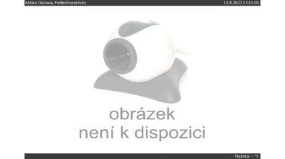 Vue webcam de jour à partir de Ostrava › South: Slezská Ostrava