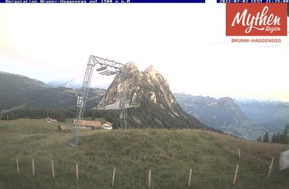 Brunni: Mythenregion Schwyz - Einsiedeln (Bergstation) - Haggenegg