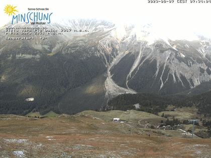 Cierfs: Skigebiet Minschuns