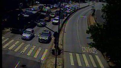 Daylight webcam view from Belo Horizonte: AO VIVO: Nossa Senhora do Carmo com Uruguai