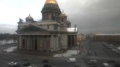 Webkamera St Petersburg: Исаакиевская площадь со звуком