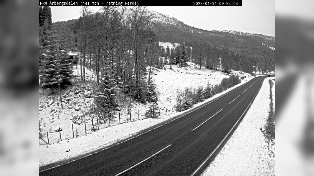 Webkamera Senneset: E39 Aarbergsdalen