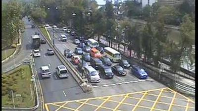 Vue webcam de jour à partir de 富善邨: Yuen Shin Road near Ting Kok Road