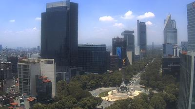 Daylight webcam view from Col Roma: Distrito Federal
