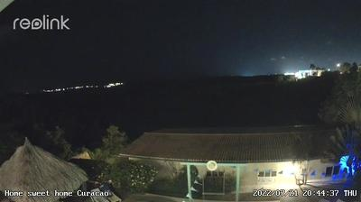 Current or last view from Jan Thiel: Nature Reserve. View from Home Sweet Home Mini Resort