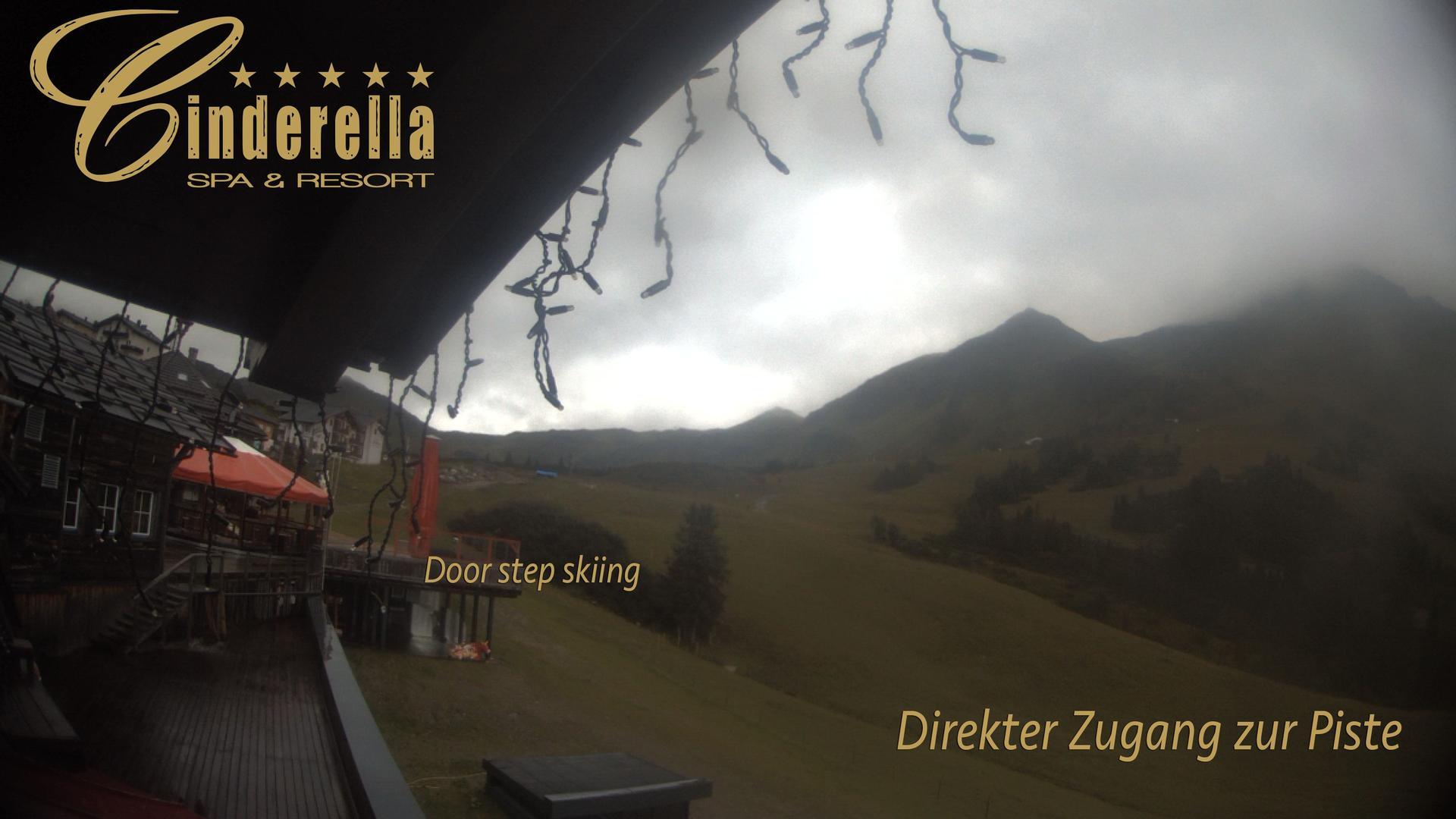 Webcam Obertauern: Hotel Cinderella − Blick auf die Flutl