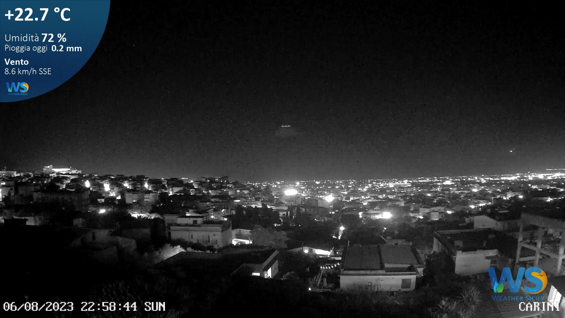 Webcam Carini › North: Comune Di Carini