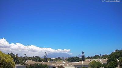 Vue webcam de jour à partir de Table View › South West: Table Mountain