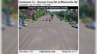 Wilsonville: Clackamas Co - Boones Ferry Rd at - Rd - Dagtid