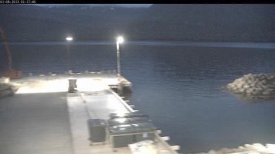 Current or last view from Mjóifjörður: Smábátahöfn
