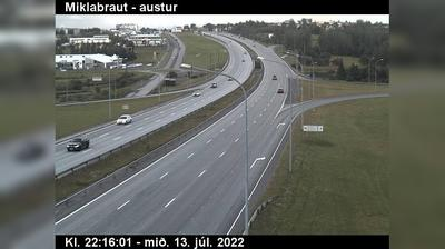 Thumbnail of Reykjavik webcam at 5:08, Sep 24