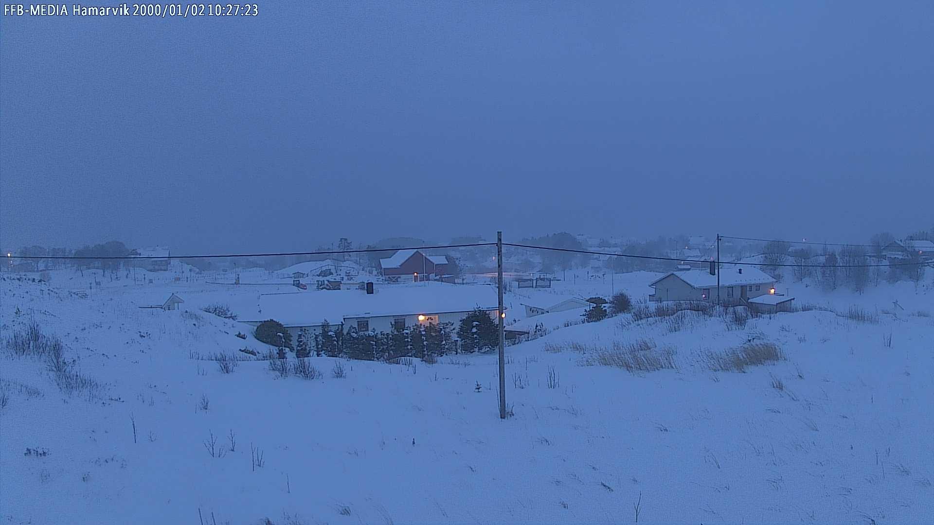 Webkamera Hammarvika › South: Hitra