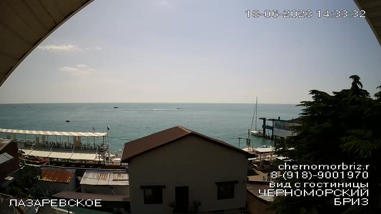 Webkamera Lazarevskoye › North-West: More