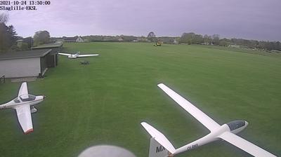 Vue webcam de jour à partir de Slaglille: Flyveplads