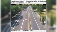 Tualatin: Washington County - Boones Ferry Rd at Martinazzi Ave - Overdag