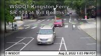 Kingston > North: WSF - SR  at Toll Booths - Day time