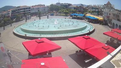 Tageslicht webcam ansicht von Armutalan: Marmaris