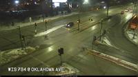 Fernwood > North: WIS  at Oklahoma Ave - Overdag