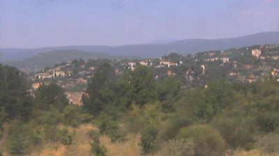 Vue webcam de jour à partir de Les Agnels: MONT VENTOUX view from APT, CASAMIRA.fr