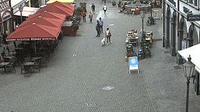 Kitzingen: Stadt - Marktplatz - Dagtid