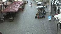 Kitzingen: Stadt - Marktplatz - Overdag