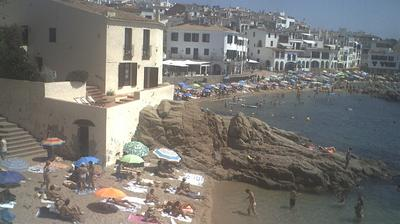 Daylight webcam view from Calella: de Palafrugell Costa Brava. Finques Frigola